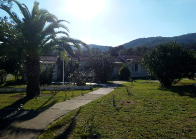 le parc de la residence